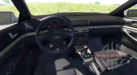 Audi S4 2000 [Pantone Reflex Blue C] для BeamNG Drive