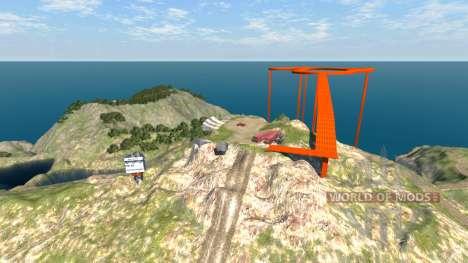 Локация -Новая вершина- для BeamNG Drive