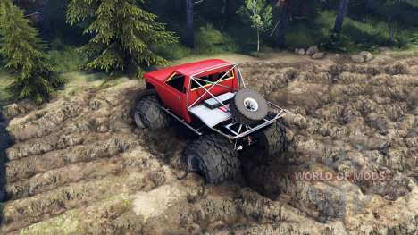 Toyota Hilux Truggy v0.9.1 для Spin Tires