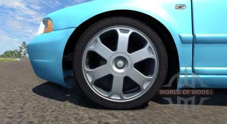 Audi S4 2000 [Pantone Blue 0821 C] для BeamNG Drive