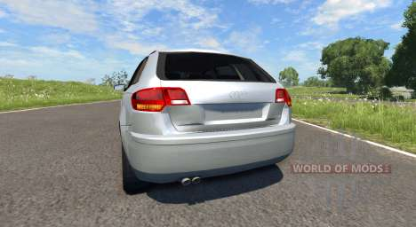 Audi A3 для BeamNG Drive