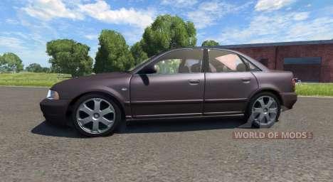 Audi S4 2000 [Pantone Black 5 C] для BeamNG Drive