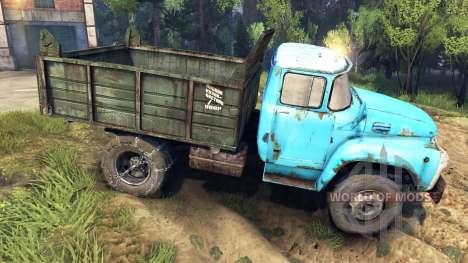 Кузов ЗиЛ-ММЗ-4502 для Spin Tires