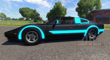 Civetta Bolide Tron для BeamNG Drive