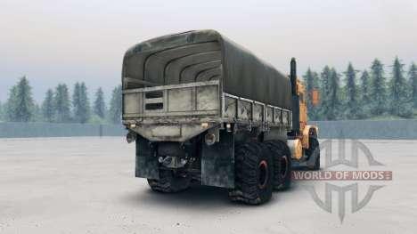 Oshkosh MTVR MK23 wheels v2 для Spin Tires