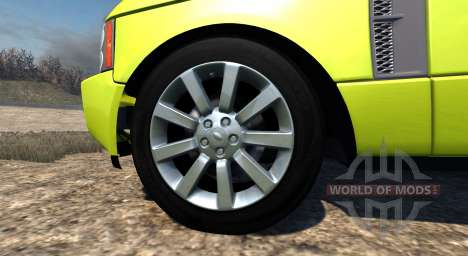 Range Rover Supercharged 2008 [Yellow] для BeamNG Drive