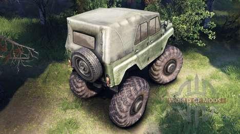 УАЗ-469 Monster Truck v2 для Spin Tires