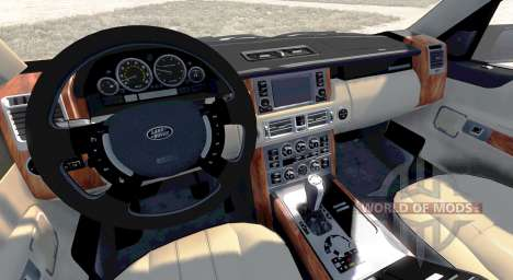 Range Rover Supercharged 2008 [Beige] для BeamNG Drive