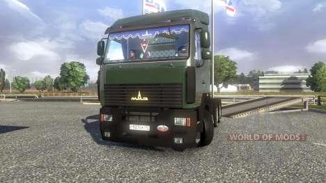 МАЗ-5440 A5 для Euro Truck Simulator 2