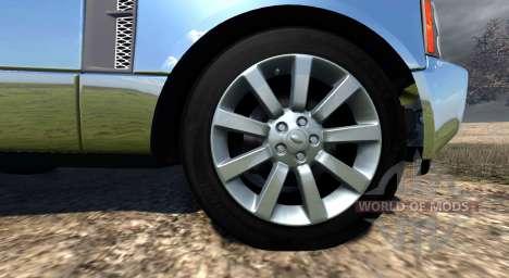 Range Rover Supercharged 2008 [Chrome] для BeamNG Drive