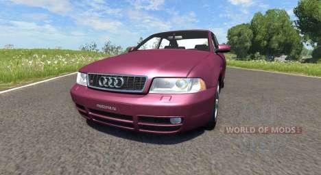 Audi S4 2000 [Pantone 209 C] для BeamNG Drive