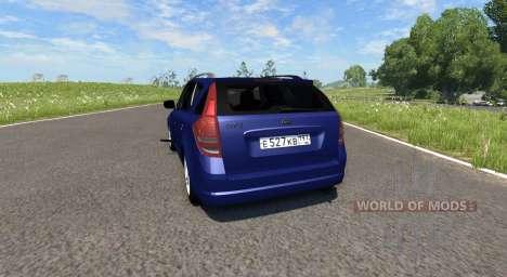 Kia Ceed для BeamNG Drive