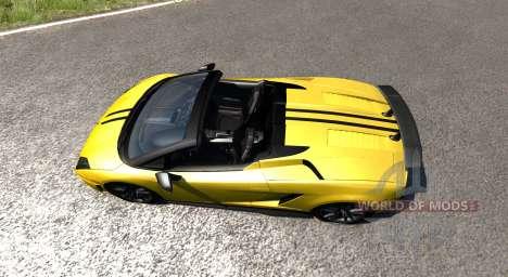Lamborghini Gallardo LP570-4 Spyder v1.1 для BeamNG Drive