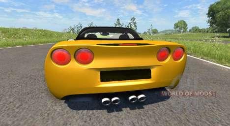 Chevrolet Corvette ZR1 2010 для BeamNG Drive
