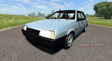 ВАЗ-21099 v2.0 для BeamNG Drive
