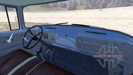 ЗиЛ-130В1 с полуприцепом для BeamNG Drive