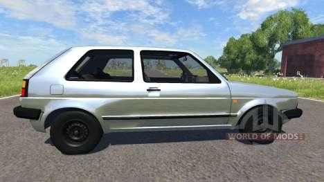 Volkswagen Golf Mk2 GTI 1987 для BeamNG Drive