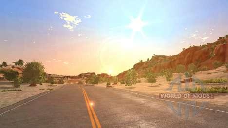 Локация -Каньон- для BeamNG Drive