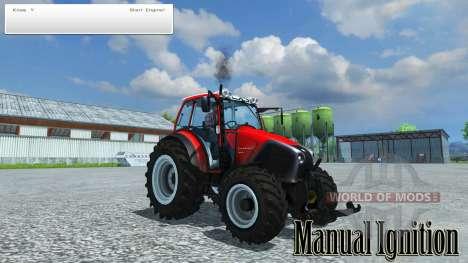 Ручное зажигание для Farming Simulator 2013