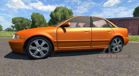 Audi S4 2000 [Pantone Orange 021 C] для BeamNG Drive