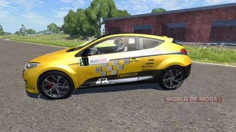 Renault Megane RS для BeamNG Drive