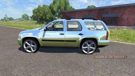 Chevrolet Tahoe для BeamNG Drive