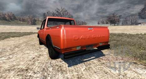 Datsun 720 1981 King Cab для BeamNG Drive