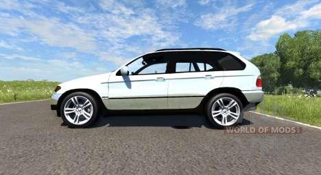BMW X5M для BeamNG Drive