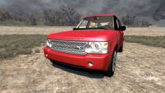 Range Rover Supercharged 2008 [Red]