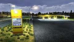 Европейские автозаправочные станции