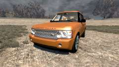 Range Rover Supercharged 2008 [Orange] для BeamNG Drive