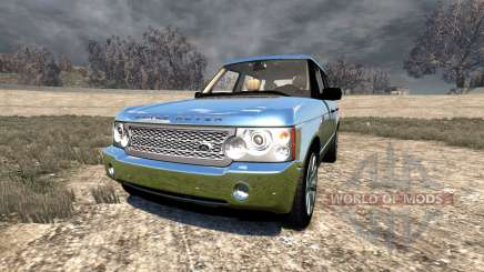 Range Rover Supercharged 2008 [Chrome] для BeamNG Drive