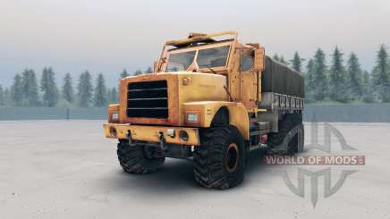 Oshkosh MTVR MK23 wheels v2 для Spin Tires