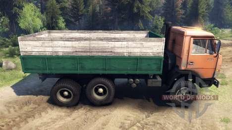 КамАЗ-55102 для Spin Tires