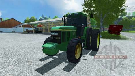 John Deere 7800 для Farming Simulator 2013
