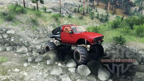 Toyota Hilux Truggy v0.9.9 для Spin Tires