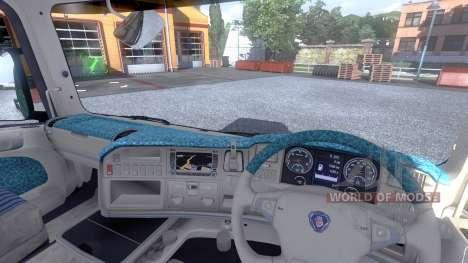 Интерьер для Scania -Beach- для Euro Truck Simulator 2