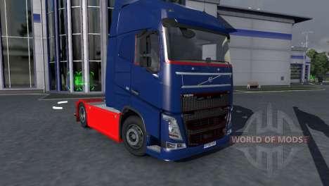Volvo FH16 Tucker Tuned для Euro Truck Simulator 2