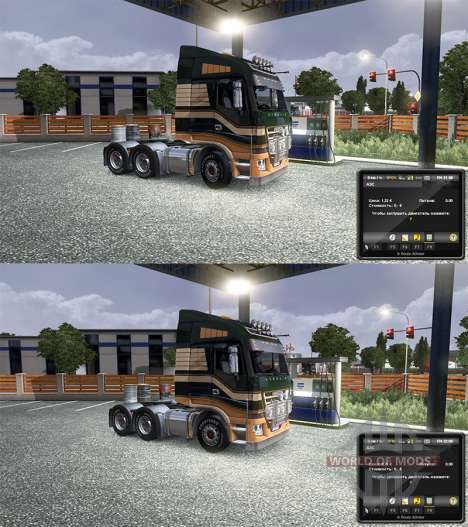 Изменение цен на бензин для Euro Truck Simulator 2