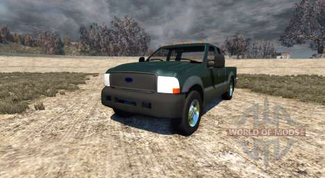 Ford F-250 2004 для BeamNG Drive
