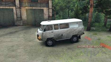 УАЗ-3909 внедорожный для Spin Tires