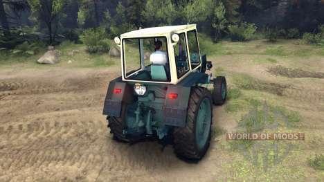 ЮМЗ-6КЛ для Spin Tires