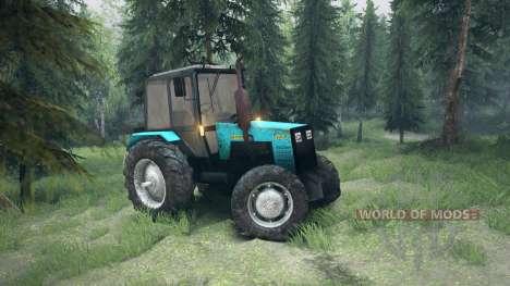 МТЗ-1221 Беларус для Spin Tires