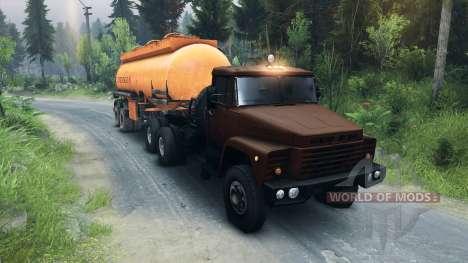 КрАЗ-6437 CabCol v1 для Spin Tires