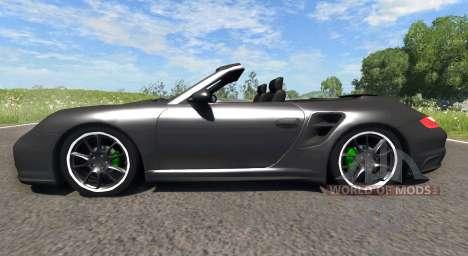 Porsche 911 Cabriolet для BeamNG Drive