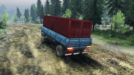 Полуприцеп ОдАЗ-885 v2.2 для Spin Tires