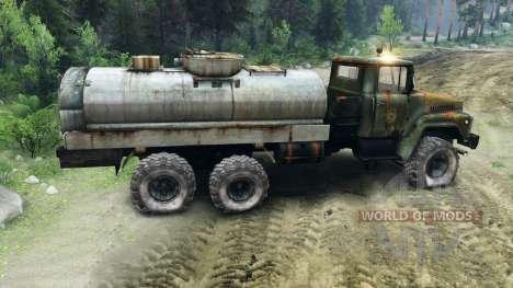 КрАЗ-260 v1.1 для Spin Tires