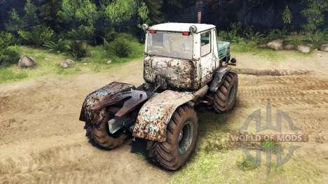 Т-150К v2 для Spin Tires