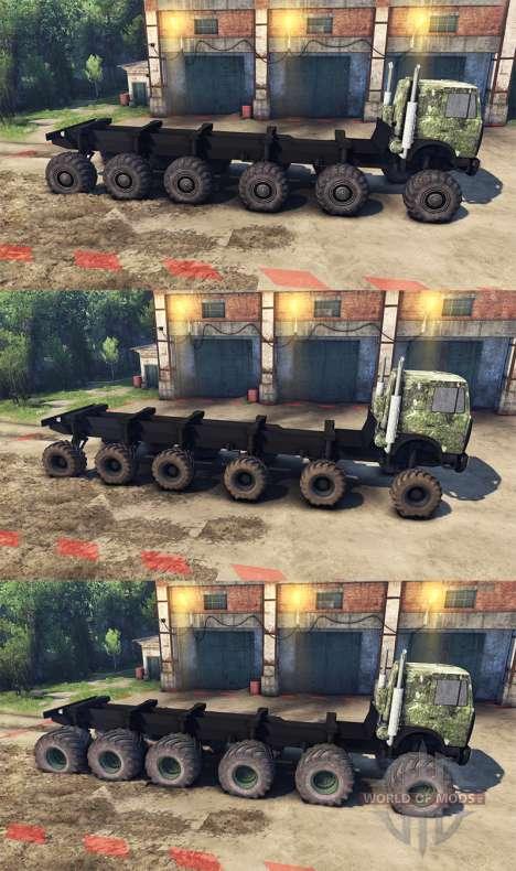 МАЗ тюнинг для Spin Tires