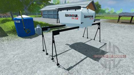 Цистерна Lomma TX 118 для Farming Simulator 2013